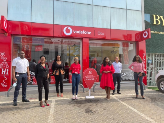 Vodafone unveils ultra-modern retail shop in Osu